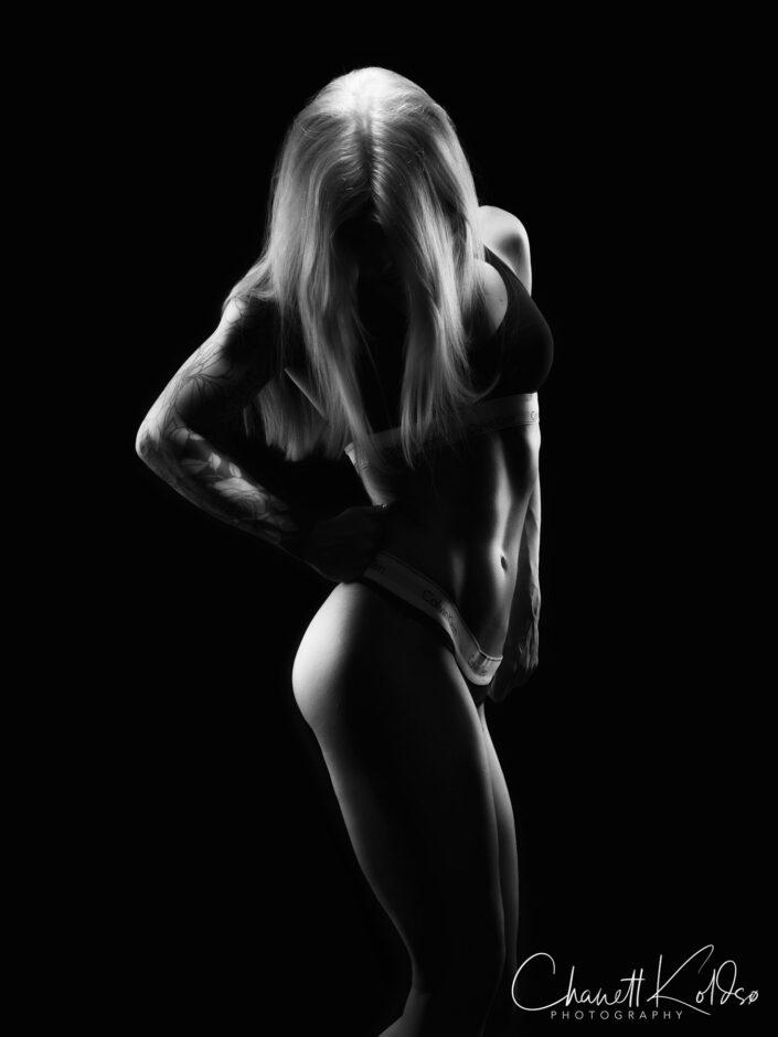 Fotografering af fitness atlet, Aarhus | © Koldsø Fotografi