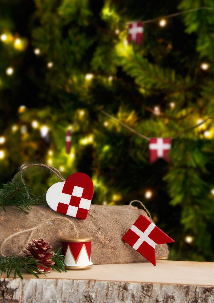 Julepynt serie fra Walnut Brands | © Koldsø Fotografi