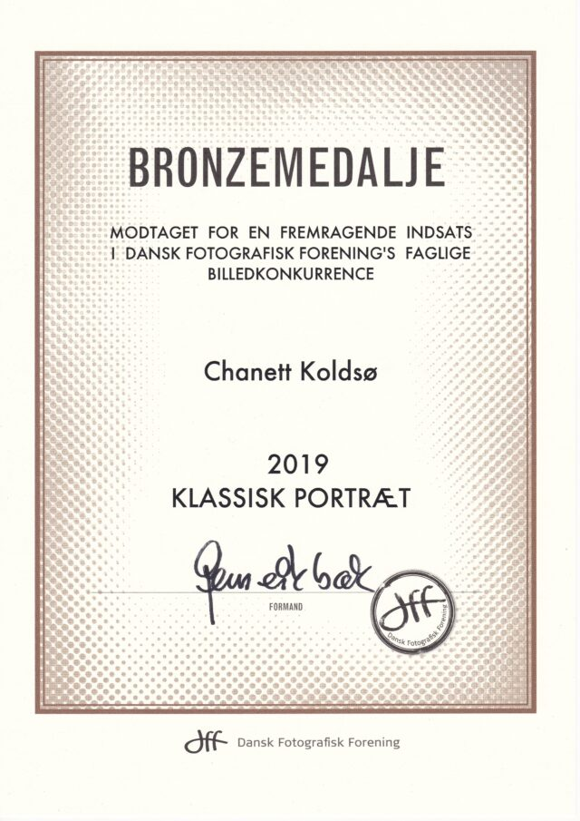 Bronzemedalje - Klassisk Portræt